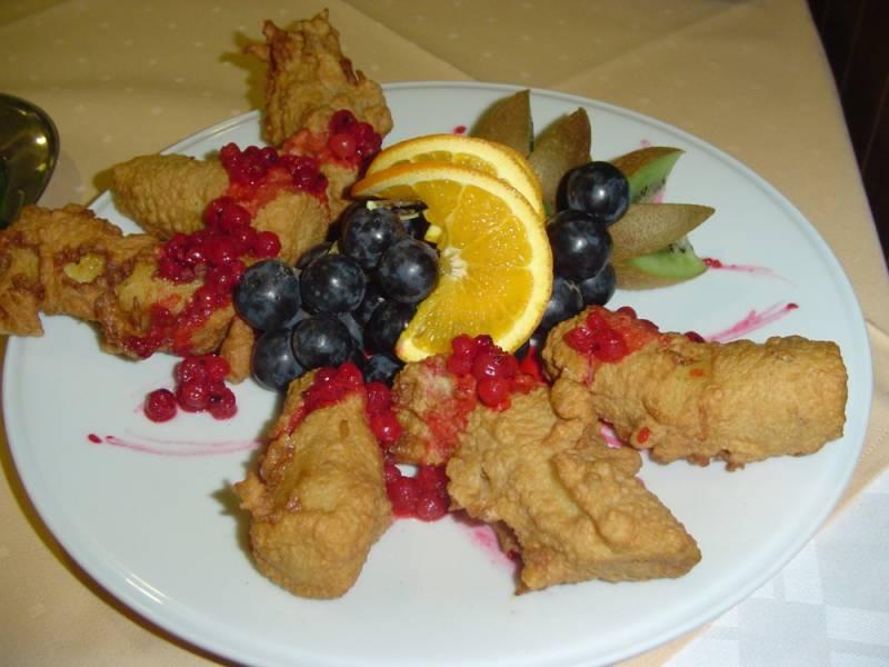Potrawa przygotowana przez uczestnika projektu Przez Kuchnię do Europy