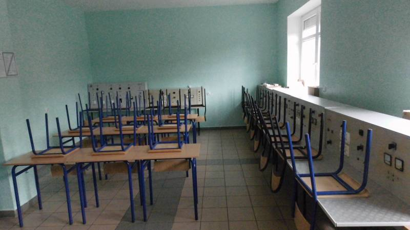 Pracownia elektryczna Ośrodka Pozaszkolnych Form Kształcenia