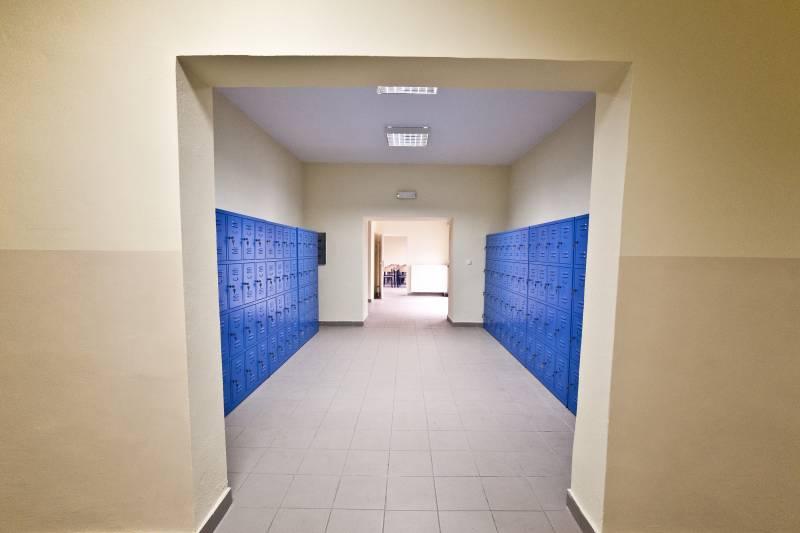 Korytarz Ośrodka Pozaszkolnych Form Kształcenia
