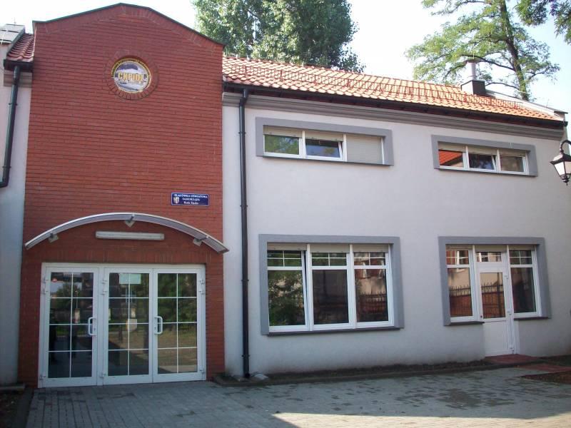 Budynek Ośrodka Pozaszkolnych Form Kształcenia