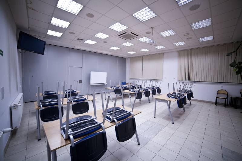 Część projekcyjno-seminaryjna Regionalnego Centrum Szkoleniowego TOYOTA