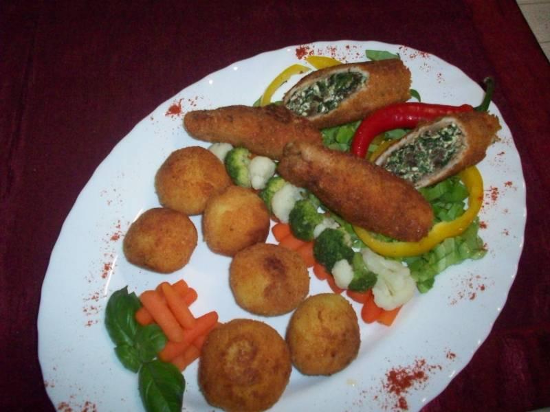 Potrawa przygotowana przez uczestnika projektu Smaki Europy