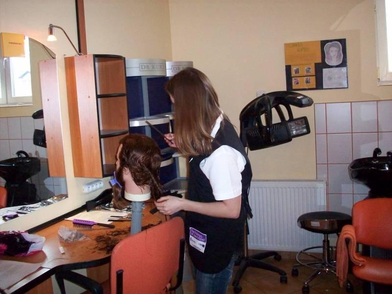 Uczestnik projektu Fachowiec w zawodzie podczas egzaminu na tytuł zawodowy lub tytuł zawodowy mistrza